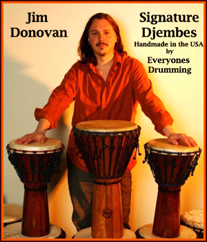 Rusted Root Djembe